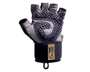 GoFit Diamond-Tac Wrist Wrap best Weight lifting Glove