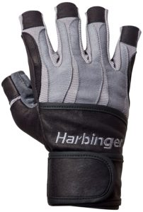 Harbinger Men's Bioform Wristwrap weight lifting Glove