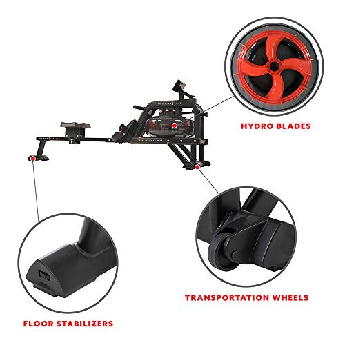 our top pick rowing machines with water resistance system and water tank