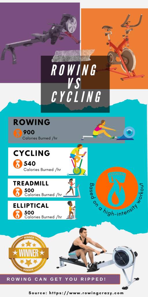 Rowing vs Cycling