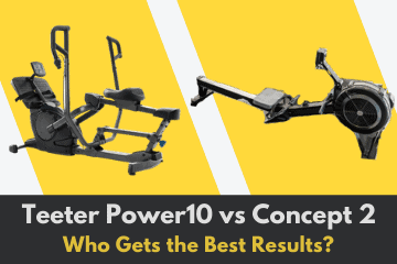 Teeter Power10 vs Concept 2