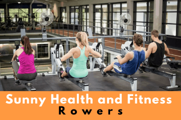 Sunny Health and Fitness Rowers