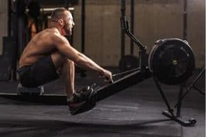 can rowing build muscle?
