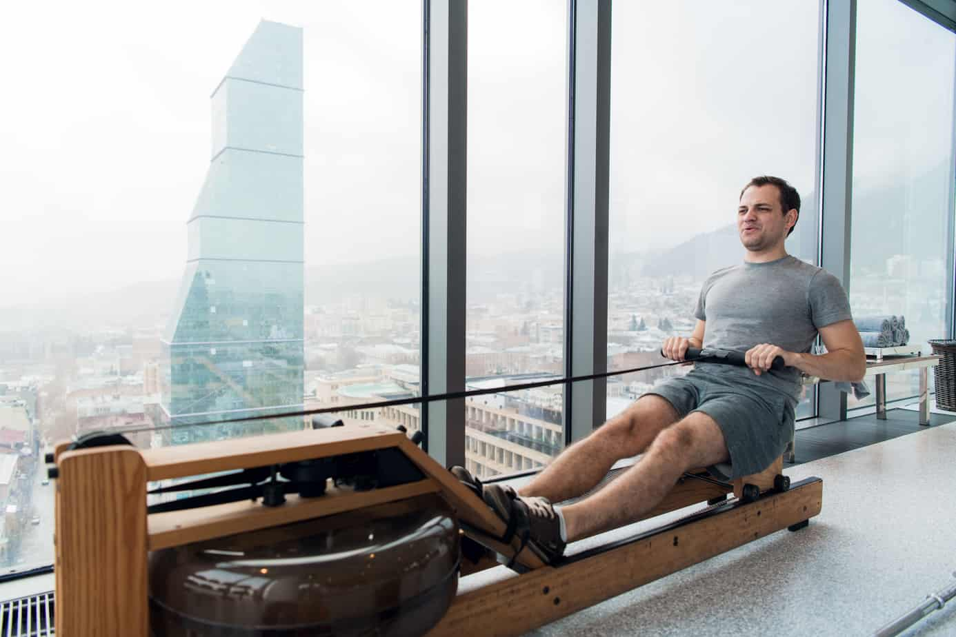 what is the difference between a water rower and air rower