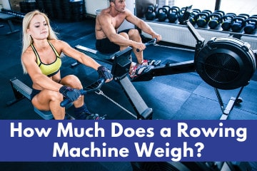 how much does a rowing machine weigh